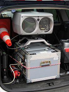 Radar embarqué en voiture